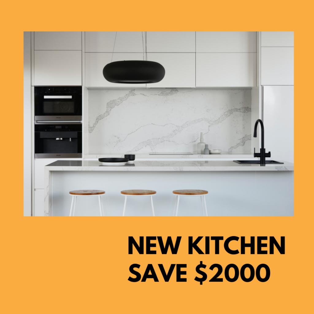 New Kitchen Sale Save $2000